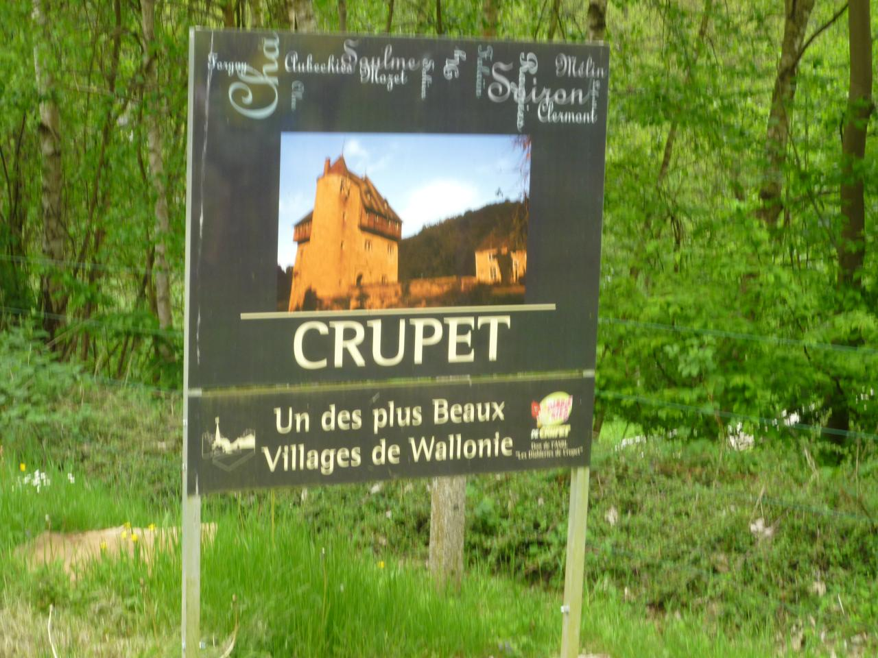 Crupet...un des plus beaux villages de Wallonie