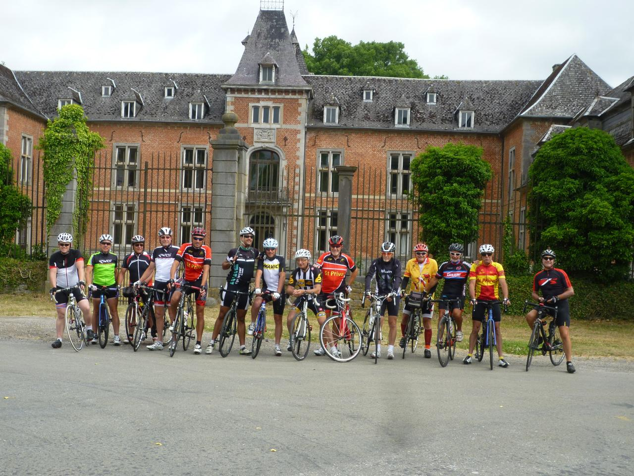 Le Cyclo Club Saint Privat La Montagne